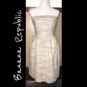 Banana Republic strapless dress size 0